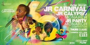 Jr Carnival, Calypso & Party Monarch 2017