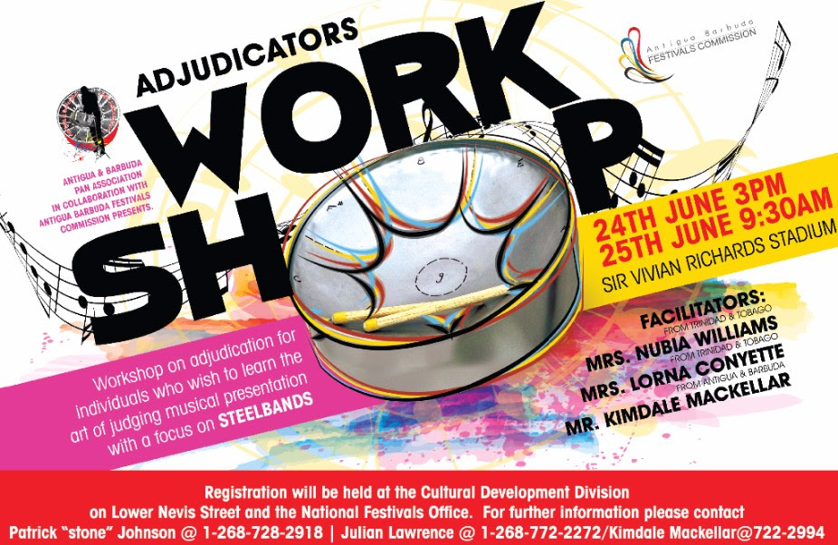 Steel Pan Adjudicator's Workshop