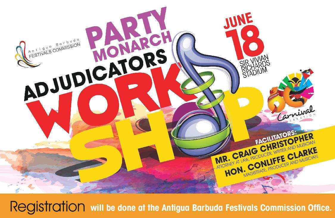 Party Monarch Adjudicators Workshop
