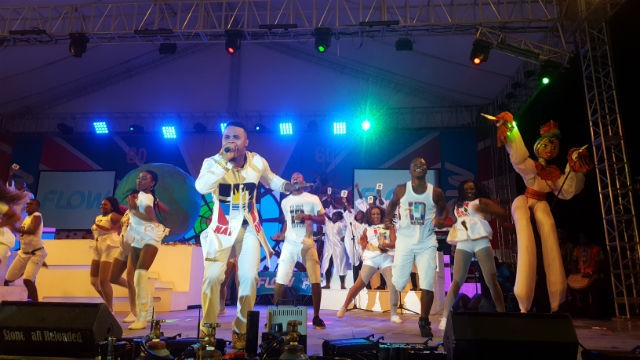 Ricardo Drue at Antigua Carnival Soca Monarch