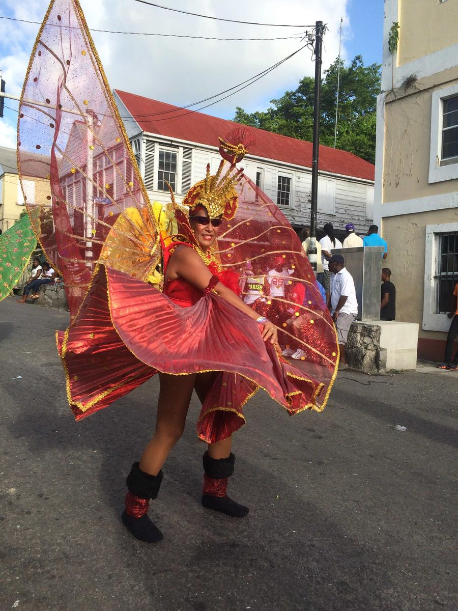 Megan Younger - Antigua Carnival Parade