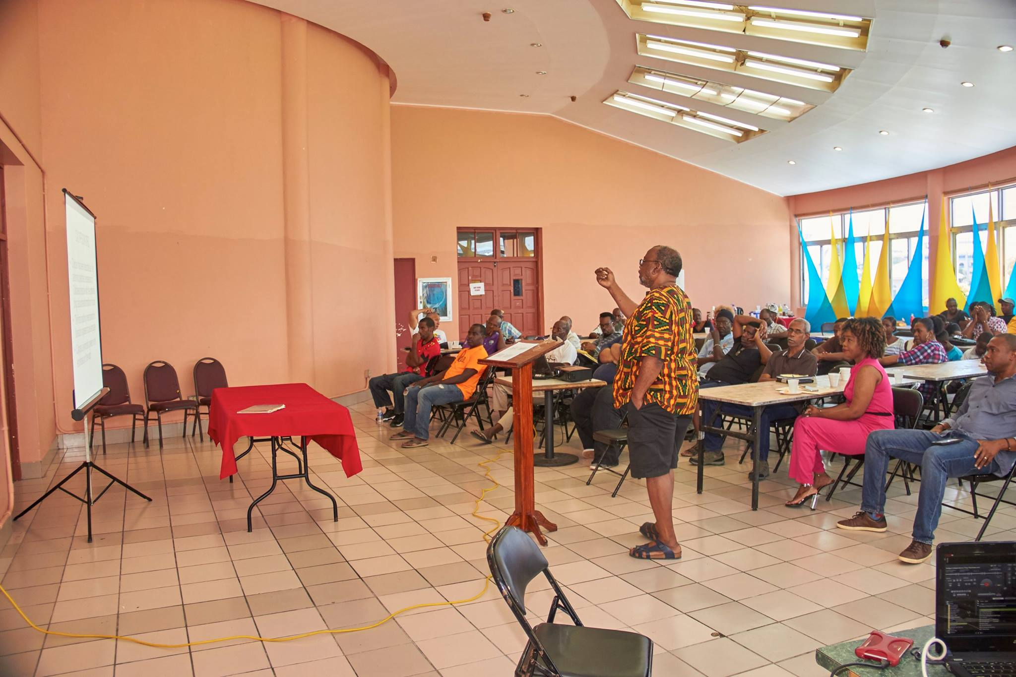2017 Calypso Workshop held at the Multipurpose Cultural Centre